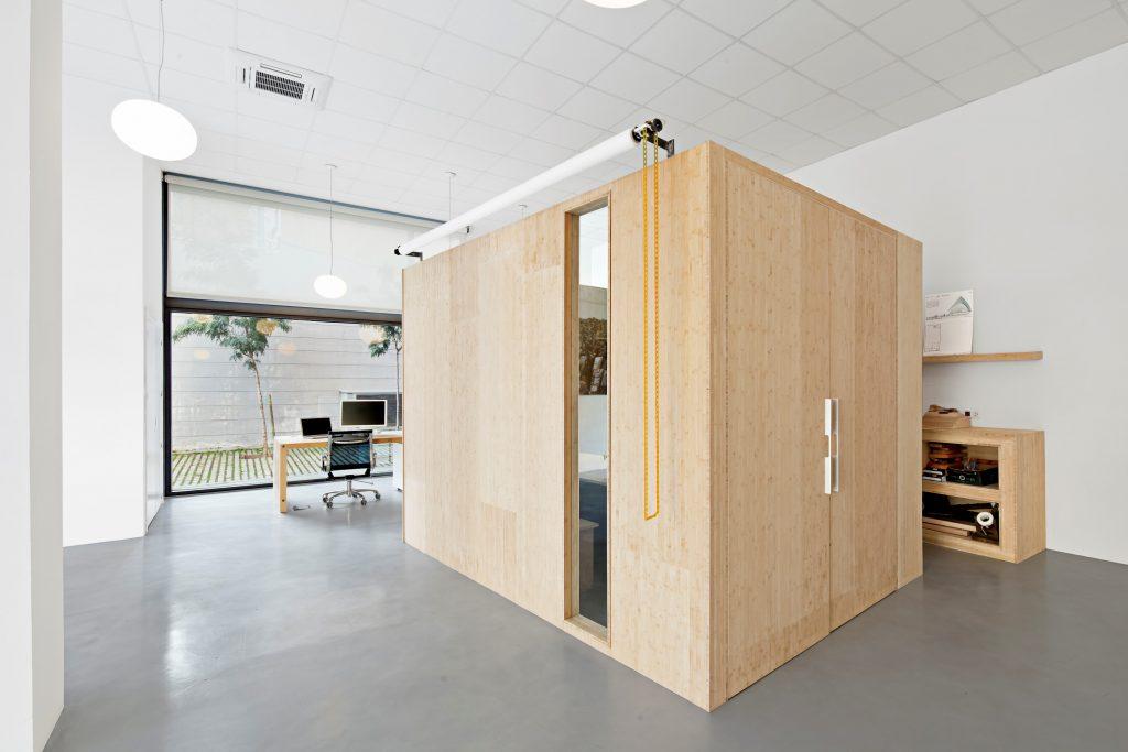 Microcemento en estudio Zest Arquitectura