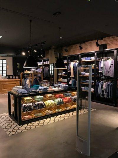 Reforma de Comercio en Centro Comercial Castellana con Microcemento
